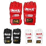 #3: Magideal MMA UFC Grappling Thai Gloves Fight Boxing Punch Bag Training Pads Red