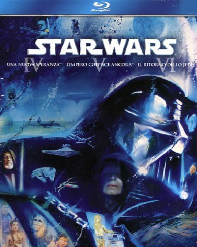 Star Wars - Trilogia 3 Blu-ray