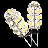 Easy Provider® 10x G4 DC 12V 26 SMD LED Strahler Leuchte Birnen Warmweiß für RV Boot