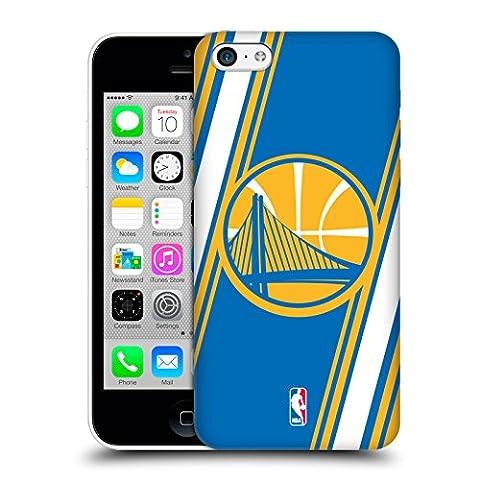 Officiel NBA Rayures Golden State Warriors Étui Coque D'Arrière Rigide Pour Apple iPhone 5c