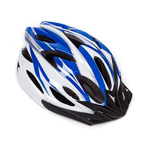 hoaey adulto ajustable casco para bicicleta de montaña bicicleta de c
