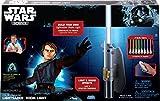 Uncle Milton Star Wars - Lámpara-espada láser - Star Wars: Luz Sable láser control remoto