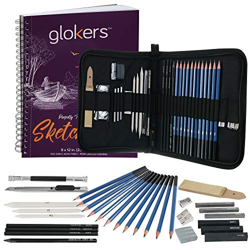 glokers 25-teiliges Deluxe Art Set von Â