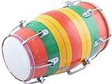 Baby Dholak - Screw Type- Multi-Colour
