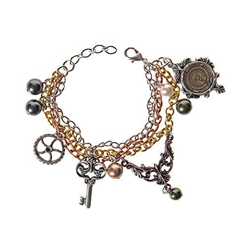 Braccialetto Gothic Mrs Hudsons Cellar Keys Alchemy