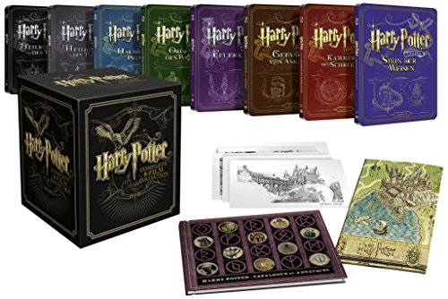 Ultimate Collector's Edition Harry Potter – inkl. Steelbooks und Sammlerstücke (exklusiv bei Amazon.de) [Blu-ray] [Limited Edition]