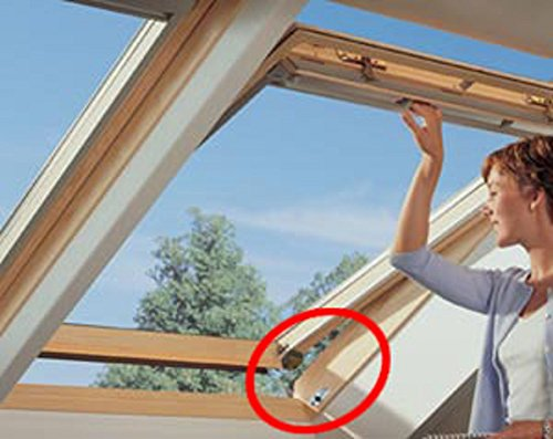 ABUS FTS _ 3003_ W _ C _ N Riegelschloss mit Druck mit Halterung für Fenster oder Schiebetür weiß Blister