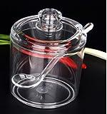 Dayakeli Zucker Spice Box Spice Jar Jar sugar Schalen Chili Topf Essig Sojasauce Flasche Milch Pulver Teekanne-B