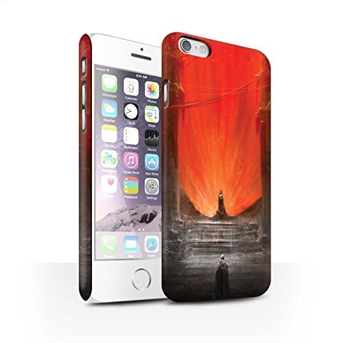 Offiziell Chris Cold Hülle / Matte Snap-On Case für Apple iPhone 6 / Pack 10pcs Muster / Dunkle Kunst Dämon Kollektion Hohe Königin