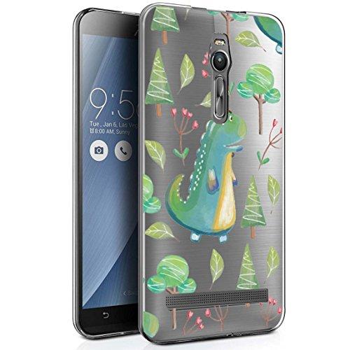Asus ZenFone 2 ZE551ML Hülle, CANWN Durchsichtig Silikon Schutzhülle Asus ZenFone 2 5,5 Zoll Transparent Handyhülle Crystal Clear TPU Case