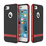 Cover Hülle For iPhone 6/6s Hülle,ROCK [Royce Series]Anti-scratch Drop Protection Ultra Thin Slim Fit Hard PC Bumper + Soft TPU Protective Hülle for Apple iPhone 6/6s