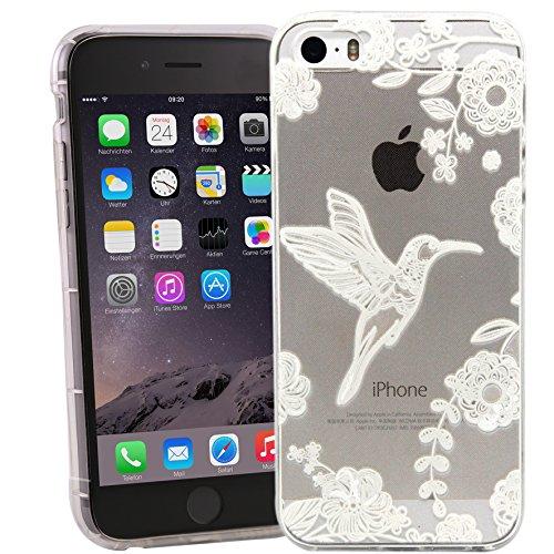 iPhone 6/6S Case motivo Case Bird (weiß)