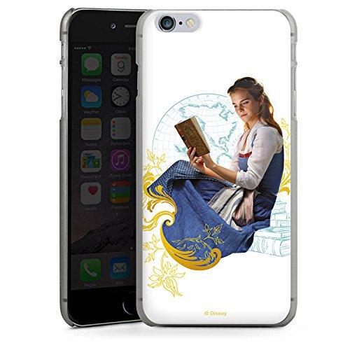 Apple iPhone X Silikon Hülle Case Schutzhülle Die Schöne und das Biest Belle Disney Prinzessin Hard Case anthrazit-klar