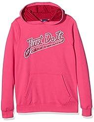 Nike G NSW PO BF GX - Sudadera para niña, color rosa, talla L