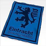 Eintracht Braunschweig Veloursdecke Löwe 150x200