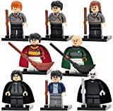 Harry Potter Full complète 8pièces Ensemble Compatible avec Lego