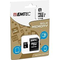 Emtec Mini Jumbo Extra Micro SDHC 8GB,