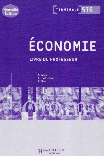Economie Tle STG : Livre du professeur