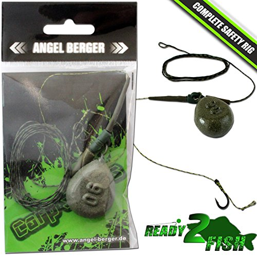 Angel Berger Ready2Fish Complete Safety Rig Karpfenmontage Carptackle (Angeln-rigs)