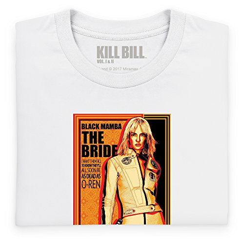 Official Kill Bill Vol 2 The Bride Langarmshirt, Herren Wei