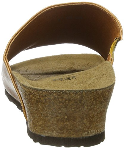 Papillio Amber Textil, Mules Femme Braun (Glossy Ochre)