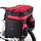 Docooler 60L Fahrrad Beutel Fahrrad Double Side Gepäckträger Hecksitz Trunk Bag Pannier