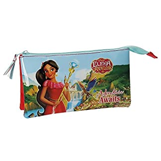 Joumma Elena De Avalor Estuches, 22 cm, Multicolor