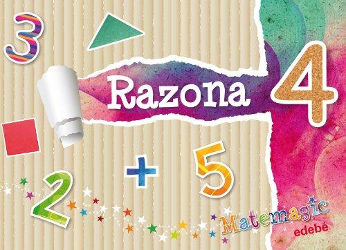MATEMAGIC RAZONA 4 - 9788468310411