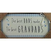 Love Life MDF rettangolare Placca & regalo Best Grandads