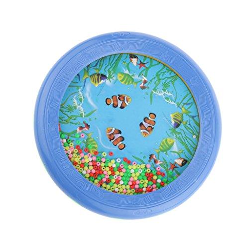 Meerestrommel Blue Ocean Wave Perle Trommel Meer Wunder Musikalische Pädagogisches Spielzeug
