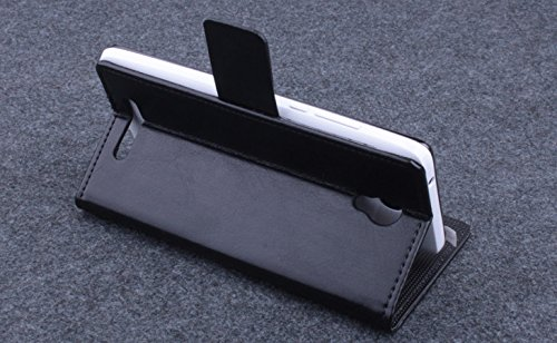 Baiwei Pu Leder Kunstleder Flip Cover Tasche Handyhülle Case für Elephone P6000 / P6000 Pro Android 4.4 3G Smartphone Tasche Hülle Case Handytasche Handyhülle Etui