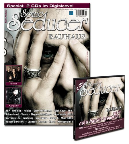 Sonic Seducer 03-08 mit Bauhaus - Titelstory plus Labelspecials inkl. 2 CDs mit Bands u.a. Bauhaus, Alec Empire, Unheilig, Atrocity, Midnattsol, Draconian u.v.m.
