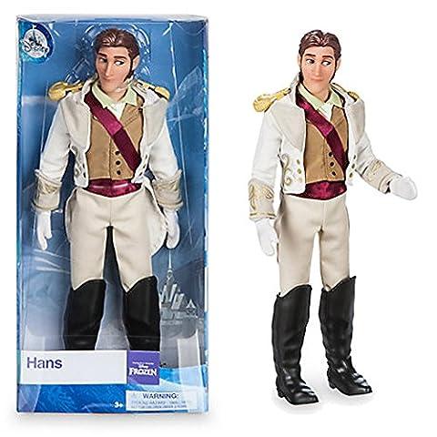 Offizielle Disney Frozen 30cm Hans Klassische Puppe Figur (Posable Figur Puppe)