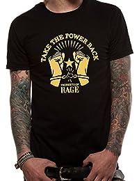 T-Shirt (Unisex-Xl) Take the Power Back (Black)