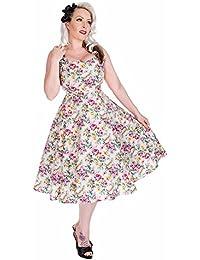 Hearts & Roses Damen Kleid Beige Beige