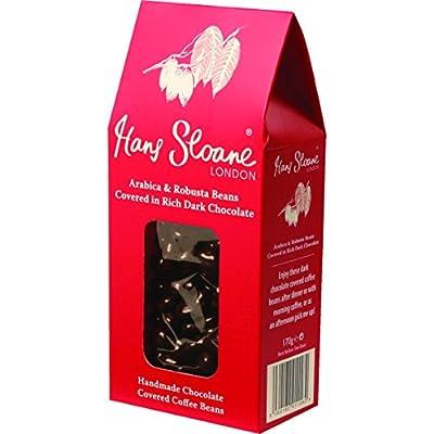 Sir Hans Sloane Dark Chocolate Covered Coffee Beans 170 g from Hans Sloane Chocolates