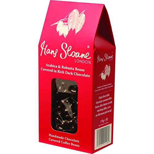 Hans Sloane Arabica and Robusta Coffee Beans Covered in Dark Chocolate 170g