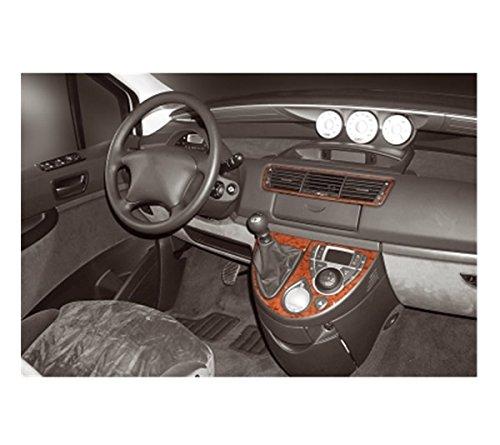 Preisvergleich Produktbild MERIC Cockpit Dekor (CD-KL00077) Exclusive 3D Ausführung, 4 Teile, Farbe: Klavierlack
