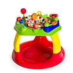 Hauck Play Around Activity Centre from 6 Months to 12 kg with Light and Sound, Height Adjustable Walker, Large, Dots