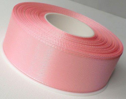 SCHLEIFENBAND 50m x 40mm ROSA Geschenkband DEKOB0AND Taftband