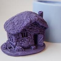Moule en silicone pour une utilisation artisanale- Créer des bougies ou des objets - Un ours en coeur fait à la main