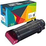 Do it Wiser Kompatibel für Dell H625cdw H825cdw S2825cdn XL Toner | 593-BBRV Magenta