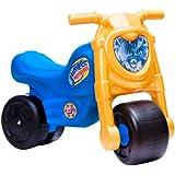 Feber - Moto Jumper, moto correpasillos de color negro, azul y amarillo