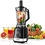 Best Countertop Blenders - Aicok Commercial Blender, Blender 1500W, Professional Blender 32,000 Review