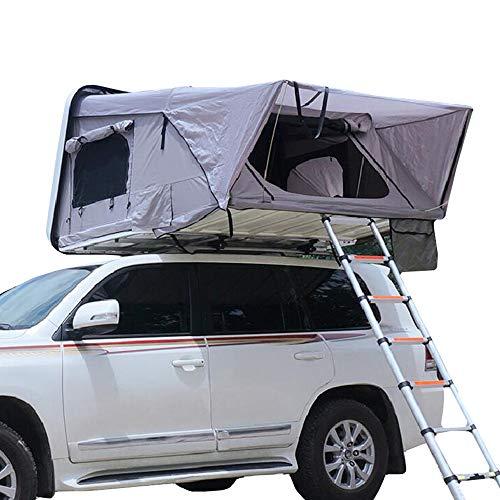 WANG2018 Hydraulische automatische Geschwindigkeit offenes Dach Campingzelt, Selbstfahrer-Tour muss großen Platz Camping feuchtigkeitsfest wasserdicht weichen Bett (außer Auto) haben