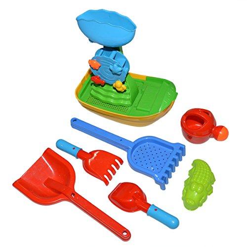 Strandboot Spielzeug of 8 Pcs,Sommer Spaß Strand Spielzeug für Kinder
