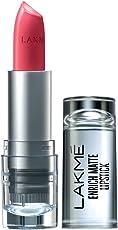 Lakme Enrich Matte Lipstick, Shade PM12, 4.7g