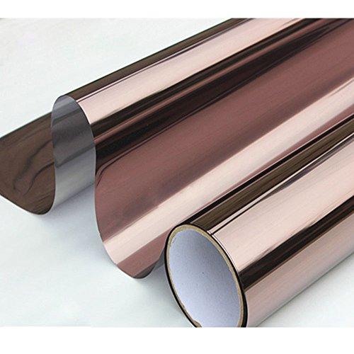 [Hoho] Bronze Silber One Way Spiegel Folie Fenster 152,4x 50,8cm