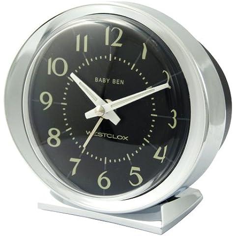 Zeon WX11607 - Reloj despertador, color plateado