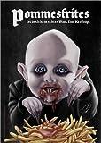 Alu Dibond 90 x 130 cm: Film-Bösewichte: Baby Nosferatu von Pit Hammann